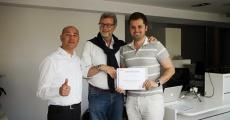 Certyfikat od prof. Adrea Borracchini